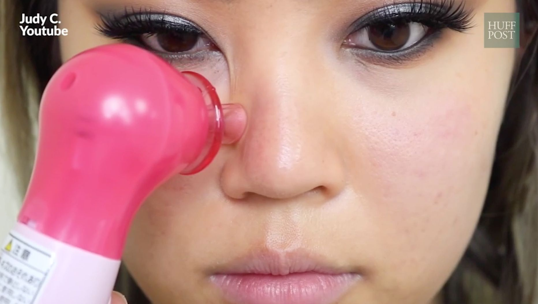 Watch This Machine Suck Blackheads Out Of People's