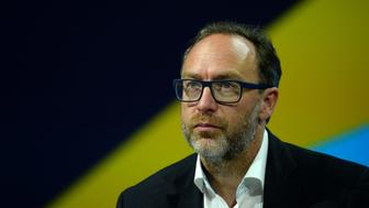 Jimmy Wales, co-founder and promoter of the online non-profit encyclopedia Wikipedia attends the Viva Technology event in Paris on June 30, 2016. / AFP / ERIC PIERMONT        (Photo credit should read ERIC PIERMONT/AFP/Getty Images)