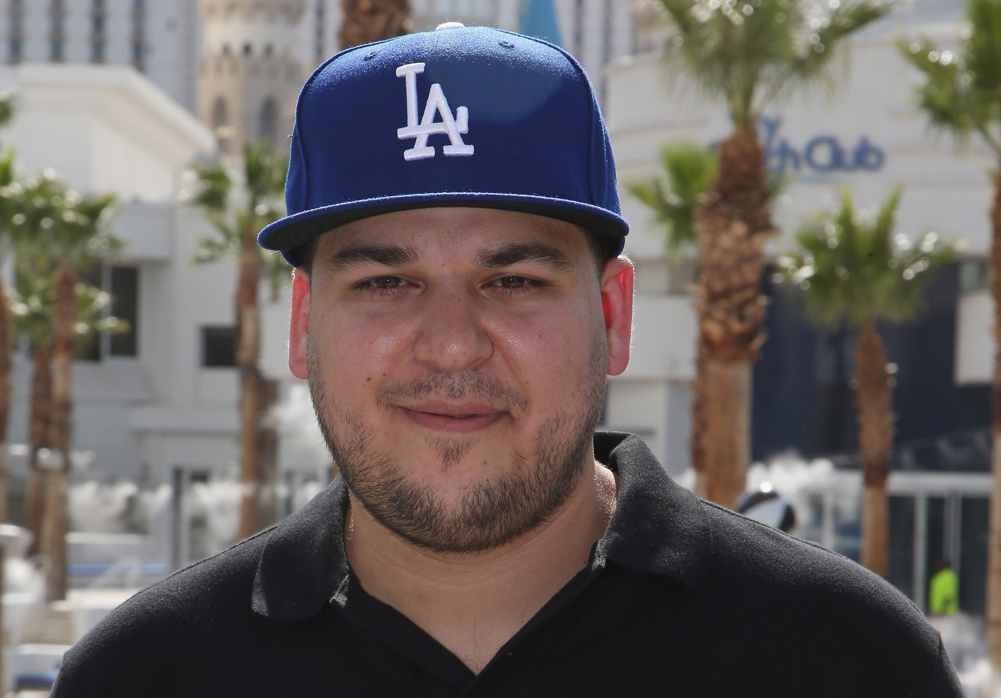 Rob Kardashian attends the Sky Beach Club at the Tropicana Las Vegas on May 28, 2016 in Las Vegas, Nevada.