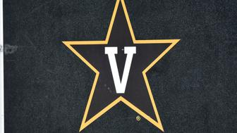 COLUMBIA, MO - NOVEMBER 12: A Vanderbilt Commodores logo is seen on a equipment trunk during a game against the Missouri Tigers  at Memorial Stadium on November 12, 2016 in Columbia, Missouri. (Photo by Ed Zurga/Getty Images)