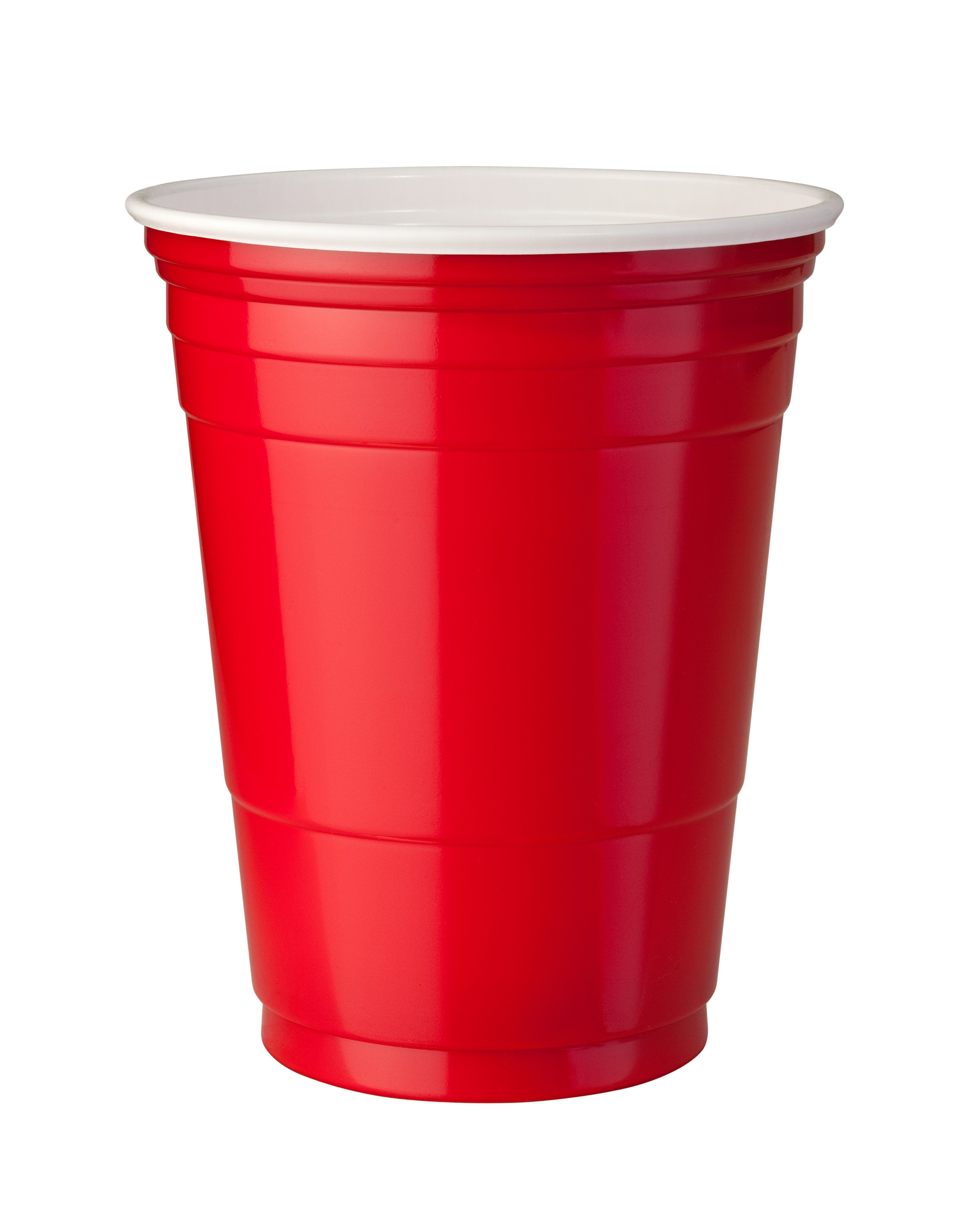 The famous red cup.