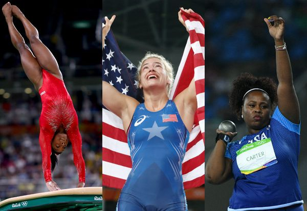 From gymnast Simone Biles flipping her way into history books to swimmers Katie Ledecky and Simone Manuel breaking records le