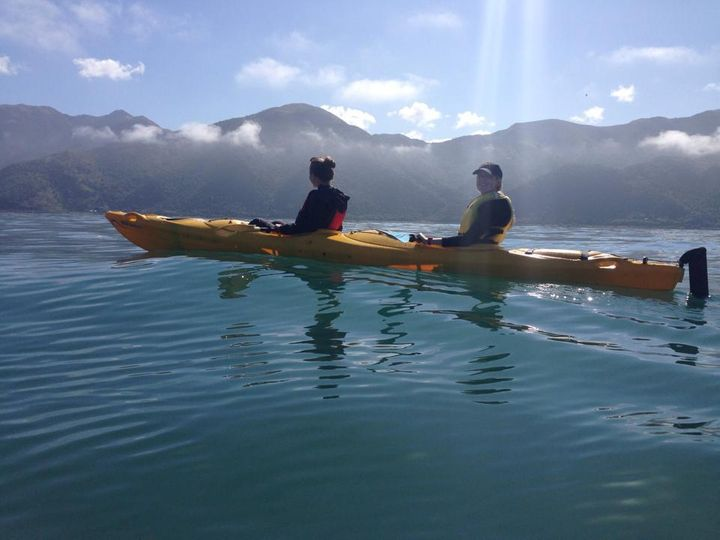 <p>Sea Kayaking in Kaikoura</p>