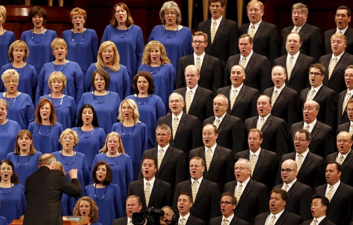 About 215 of the 360 members of the Mormon Tabernacle Choir are expected to sing at Donald Trump's presidential inauguration