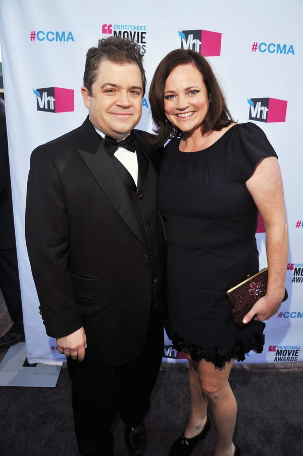 Crime writer Michelle McNamara, right, who was married to comedian Patton Oswalt, died on April 21, 2016. She was 46.
