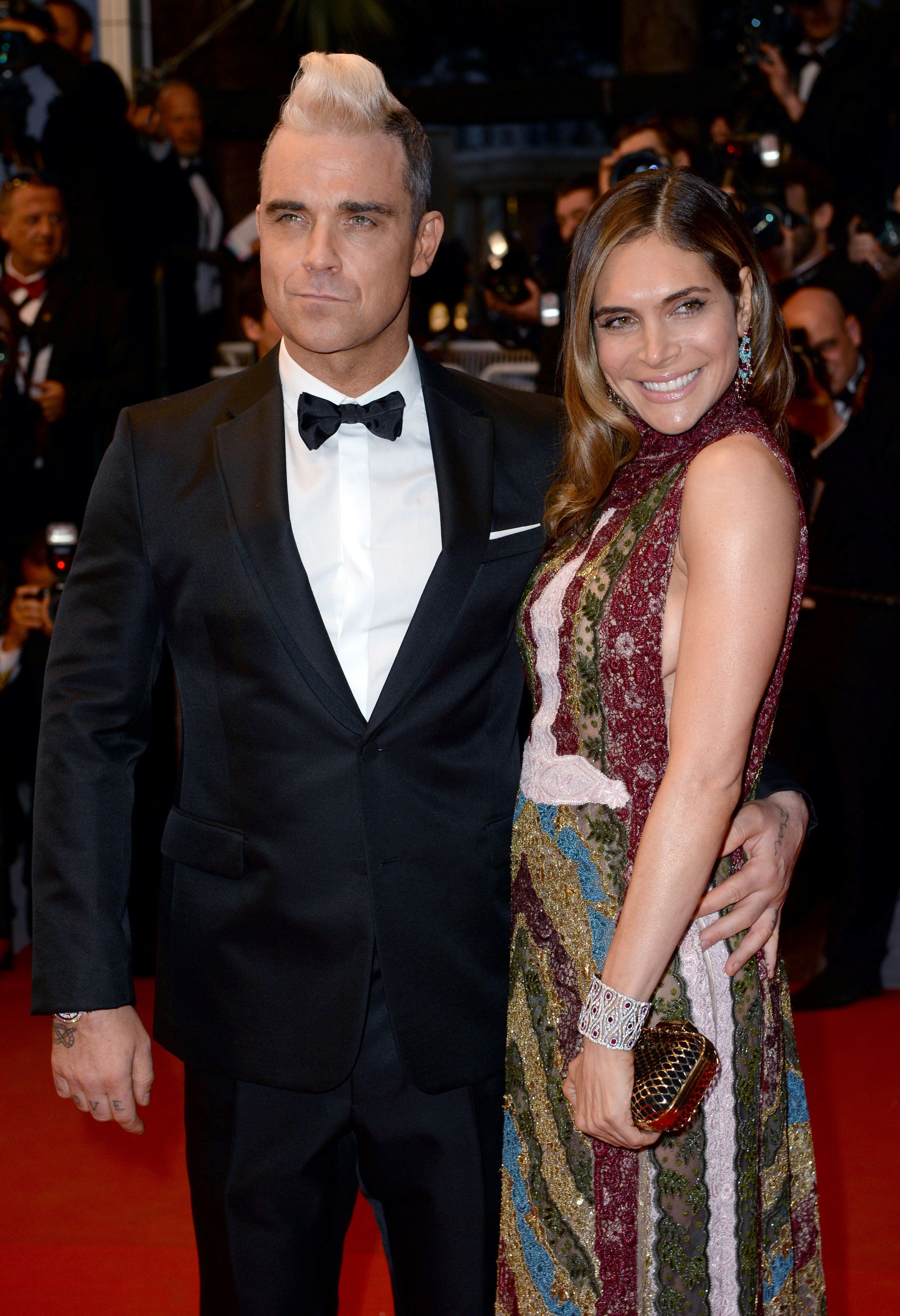 Robbie Williams And Ayda Field Could Be Launching A TV
