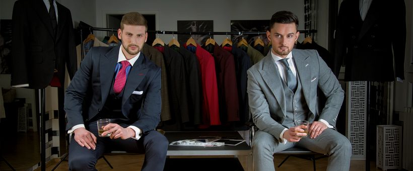 Nenad and Kris are the Founders of SIGNORI, the first start-up for tailor made suits in the Balkans.