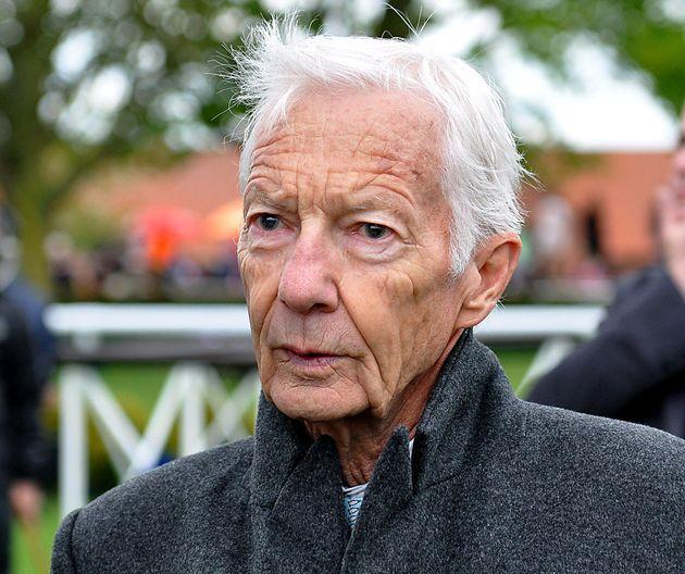Former jockey Lester Piggott at Newmarket
