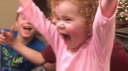 Toddler's Bottle Flip Shows She Has Way More Skills Than We'll Ever