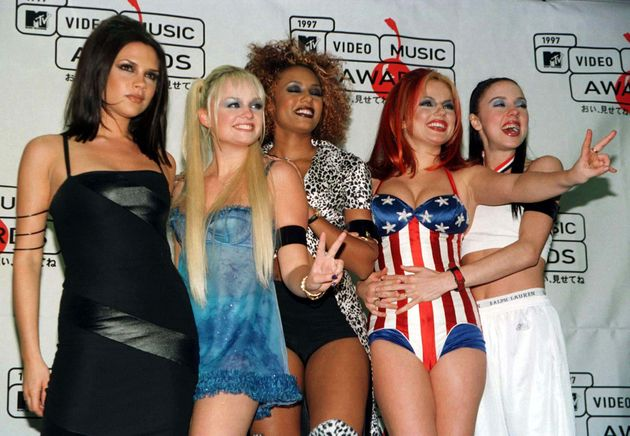 The Spice Girls at the 1997 MTV