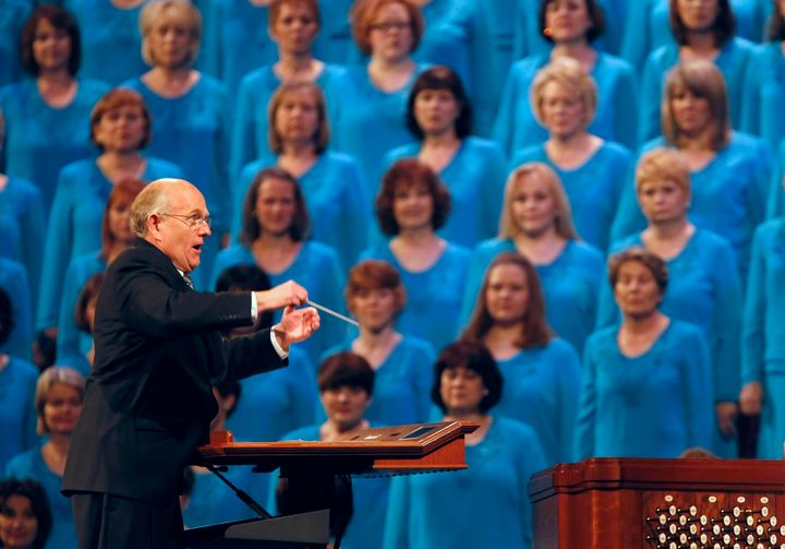The Mormon Tabernacle Choir, seen here in 2011, is set to perform on Inauguration Day.
