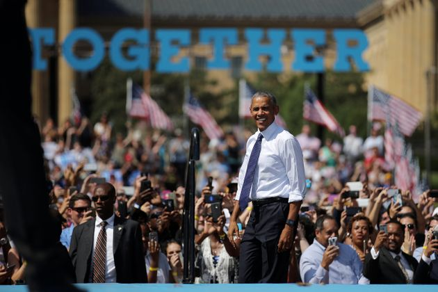 Obama Hits The Trail For Hillary Clinton -- And To Cement His Legacy For