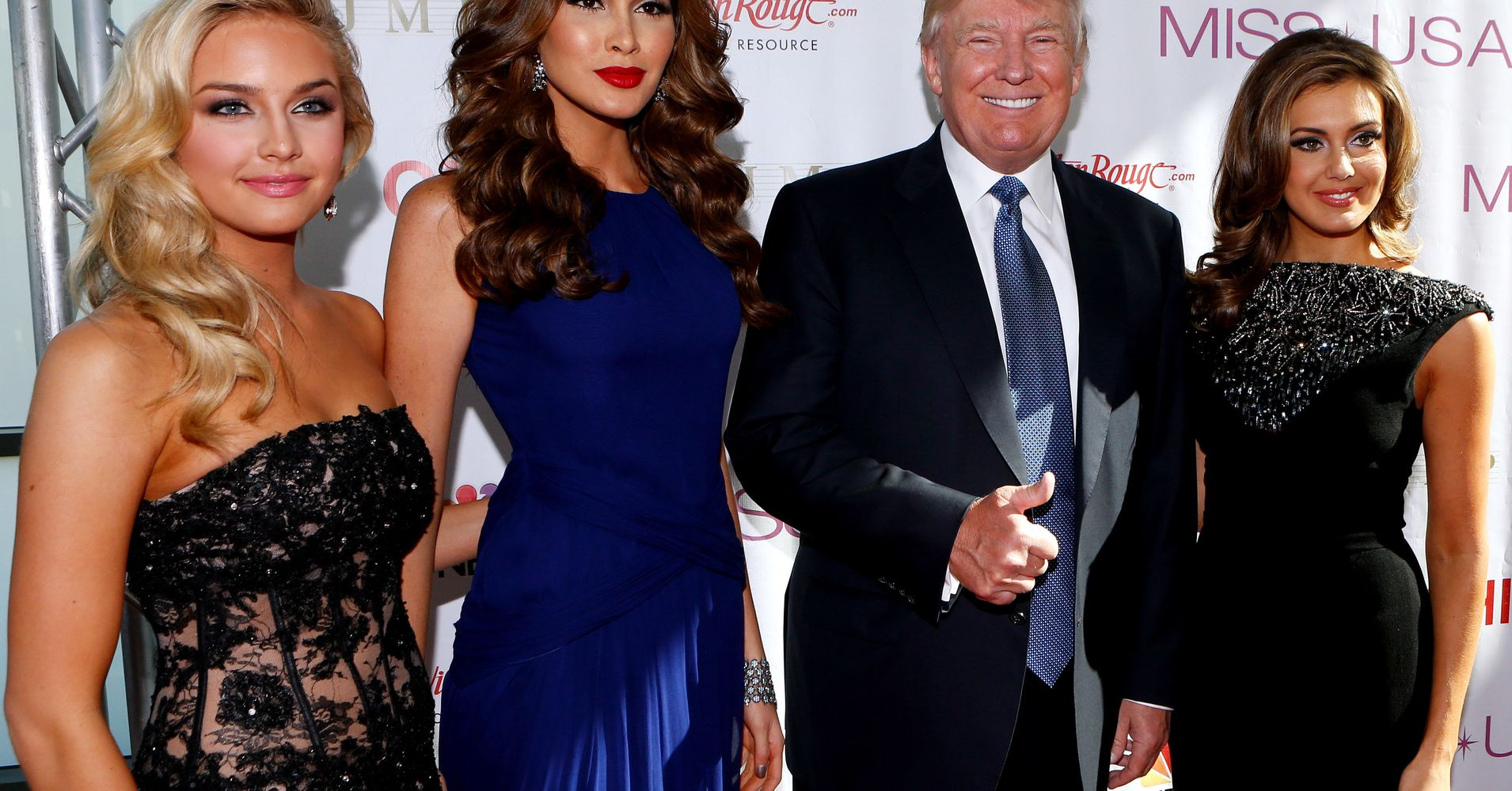 As pageant owner, Donald Trump walked into dressing rooms