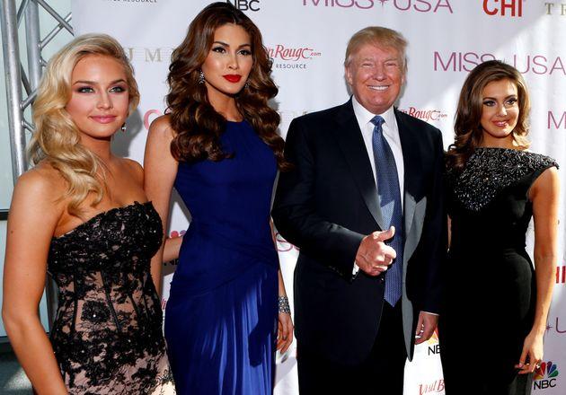 Donald Trump's Creepy Stewardship Of The Miss Teen USA