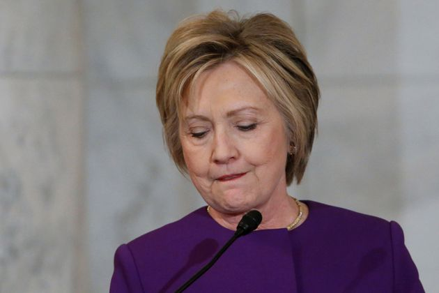 Hillary Clinton On Loss: 'These Have Been Very, Very Tough