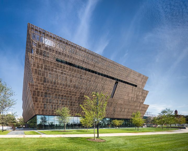 National Museum of African American History and Culture, west facade.