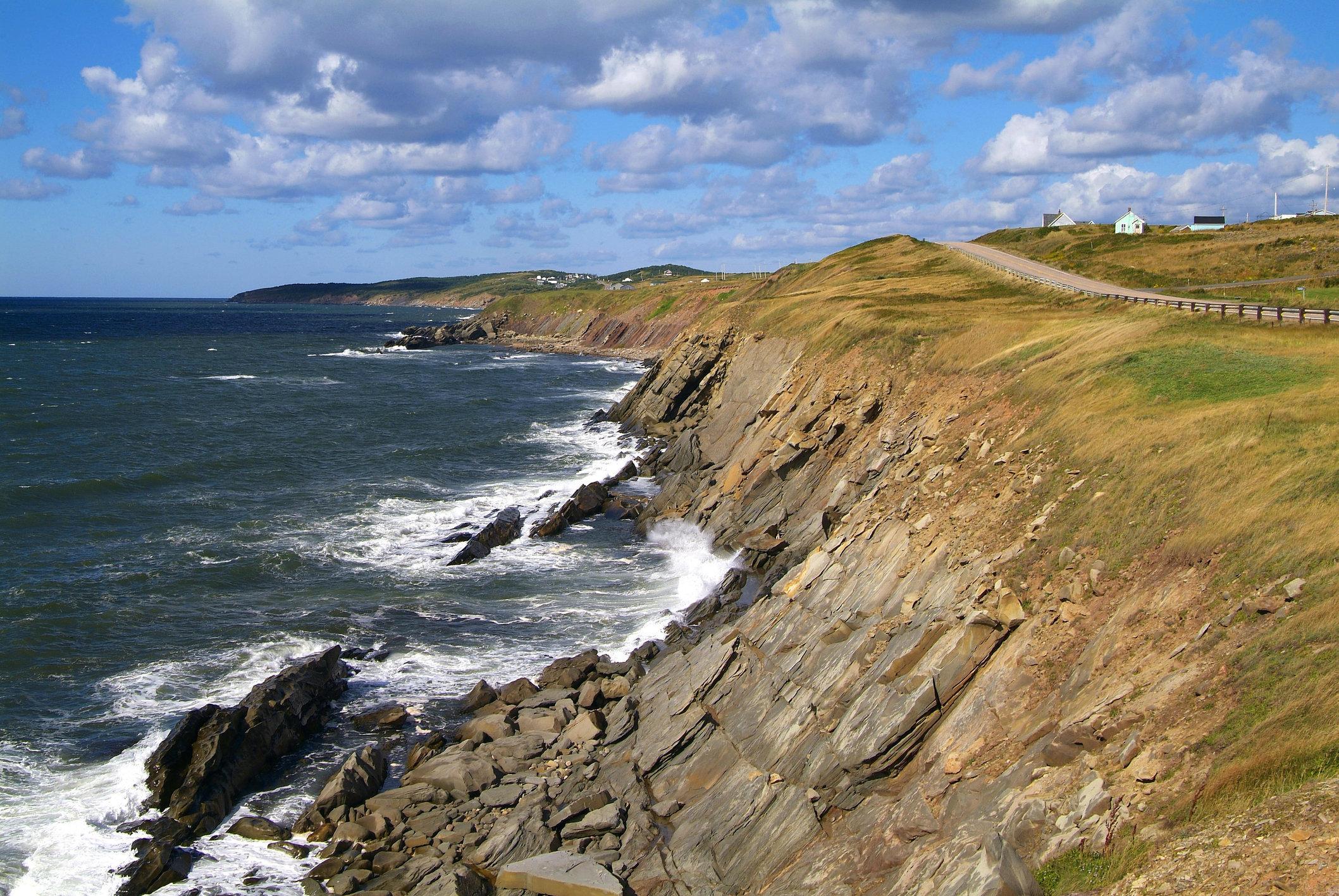 Westcoast at Cape Breton Island, Nova Scotia