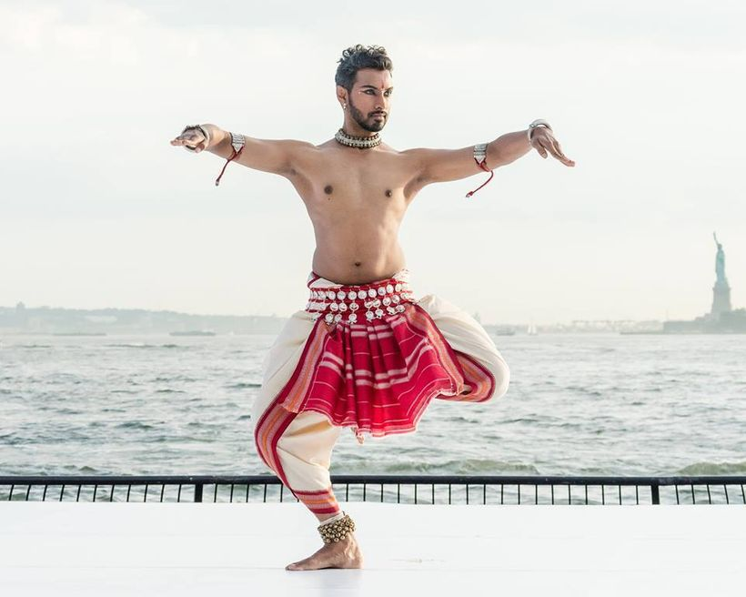 Sooraj Subramaniam at Battery Dance Festival