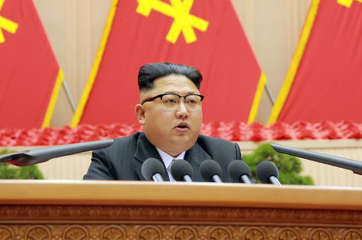 The South doesn't allow its citizens to support North Korean leader Kim Jong-un's communist kingdom in any context