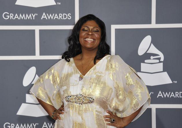 Kim Burrell atthe Grammy Awards