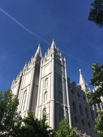 The Salt Lake LDS Temple