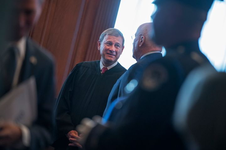 Chief Justice John Roberts issued his traditional year-end report on the federal judiciary on Dec. 31.