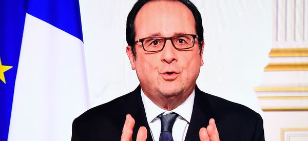 In Final New Year's Message, Hollande Takes Subtle Jab At National Front