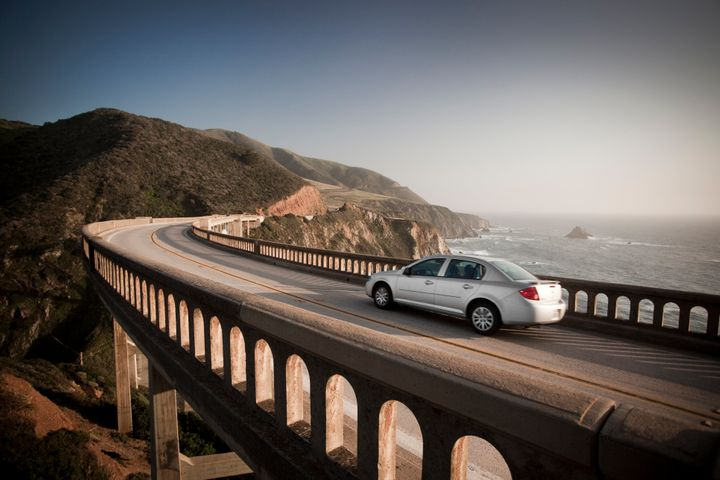 The road along the Big Sur coast can be treacherous.