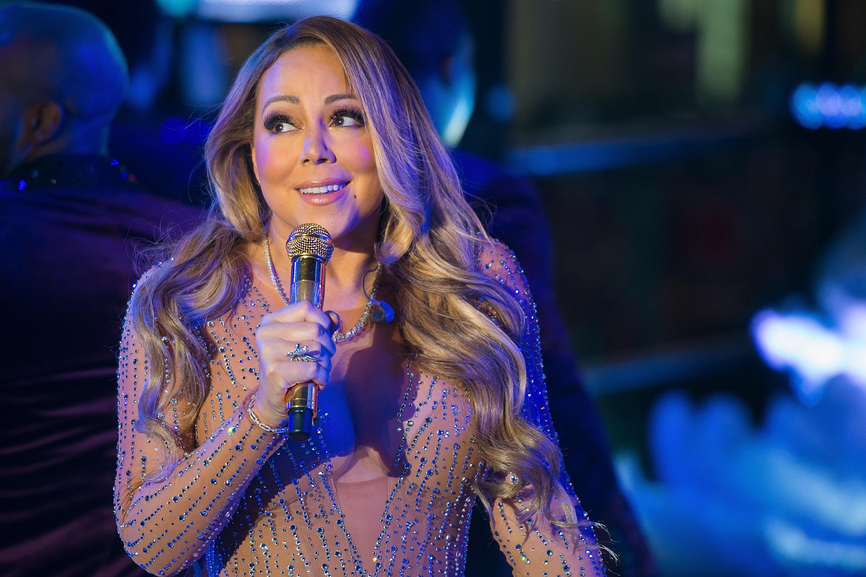 Mariah Carey had a massive lip sync fail as she performedin Times