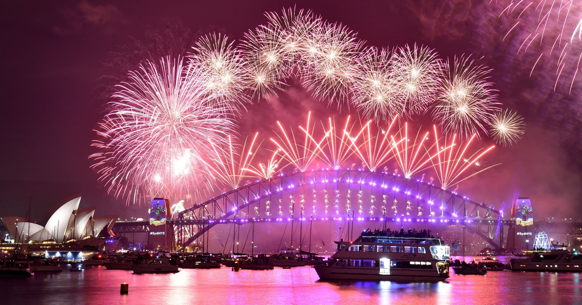 here are the most breathtaking new years eve fireworks displays huffpost