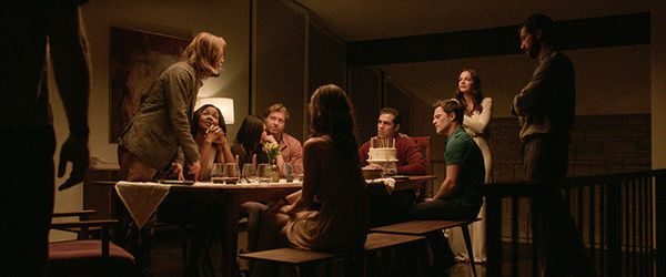 This deceptive chiller begins with a dinner party that reunites a group of friends at a nice home in the Hollywood Hills.&nbs