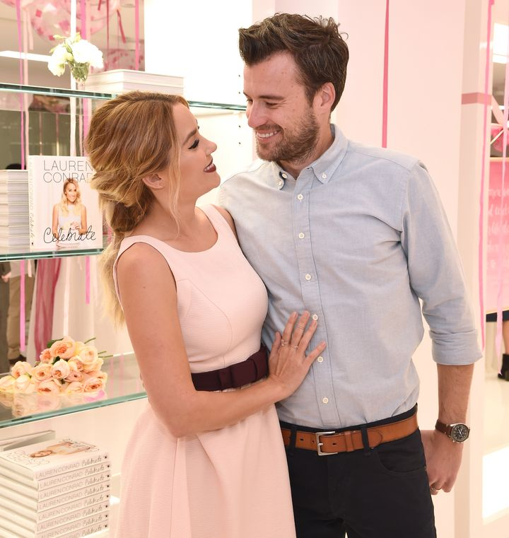 "Former ""The Hills"" star Lauren Conrad announced Sunday that she is expecting her first child with her husband, William Tell."