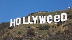 Iconic Hollywood Sign Altered To 'Hollyweed' By New Year's