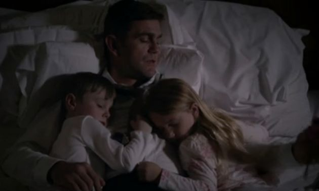 Jack was reading to his children when the incident took