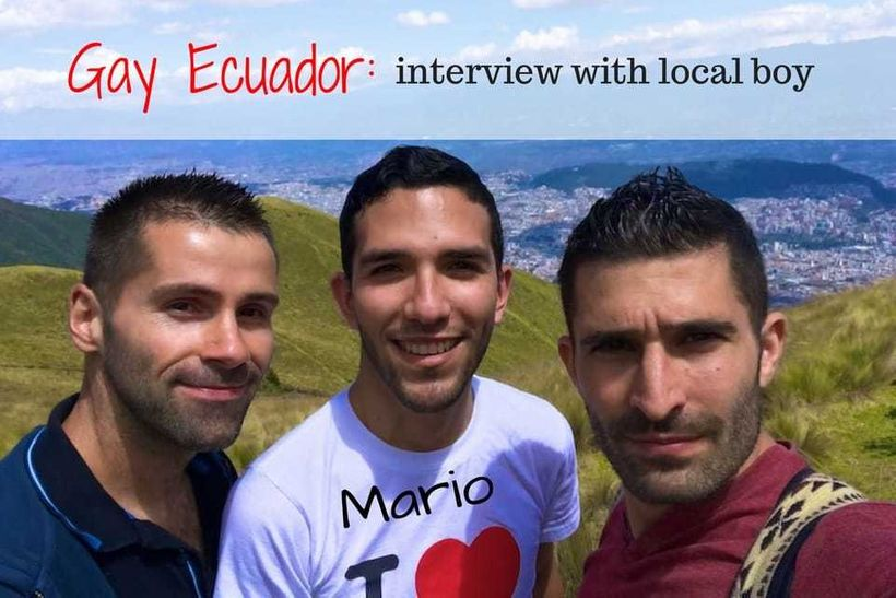 Our interview with local boy Mario from Quito about gay life in Ecuador
