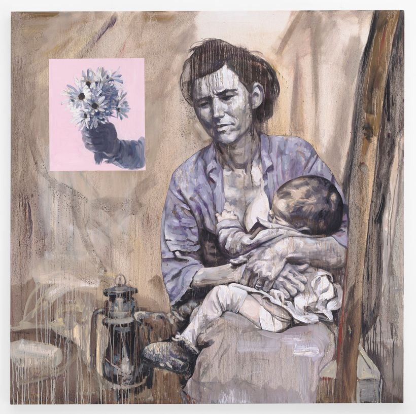 <em>Migrant Mother</em> from <em>American Exodus.</em>