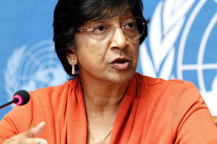 U.N. High Commissioner for Human Rights Navi Pillay spoke out against Iran's use of the death penalty for young offenders fol