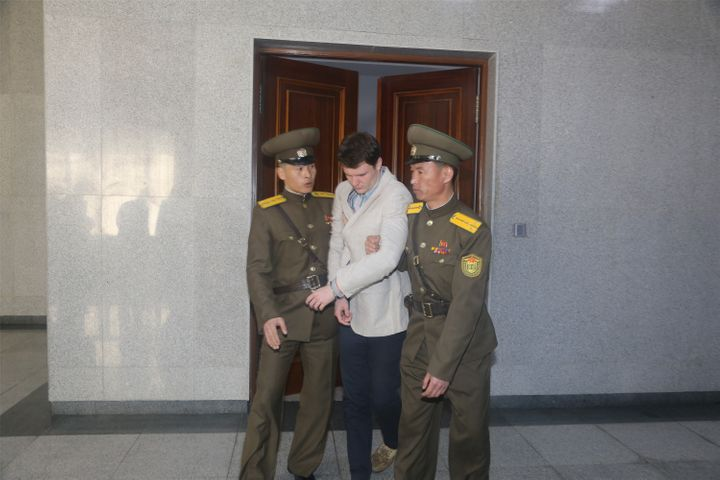 University of Virginia studentOtto Frederick Warmbier, 21, was detained on Jan. 2 as he prepared to leave North Korea&n