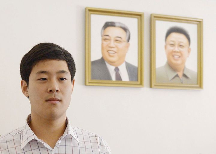 Won Moon Joo was another college student who ran afoul of North Korean authorities.