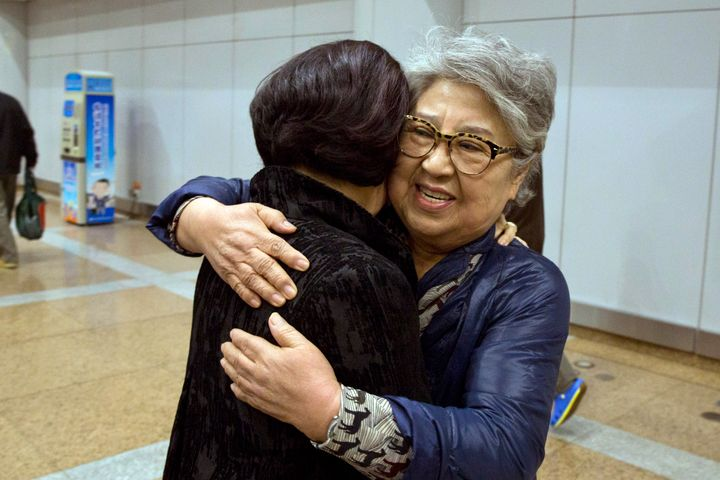 Sandra Suh, right, had visited North Korea multiple times over 20 years.