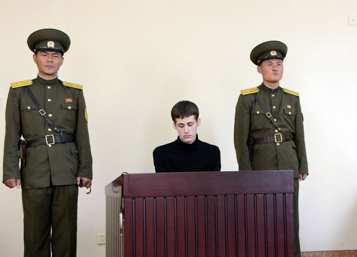 Matthew Miller was tried on charges of illegally entering North Korea to commit espionage.