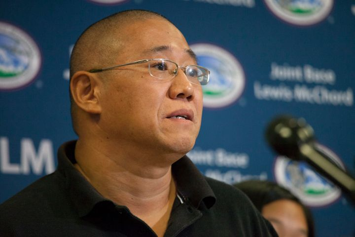 Kenneth Bae, an American missionary, was held for about two years.