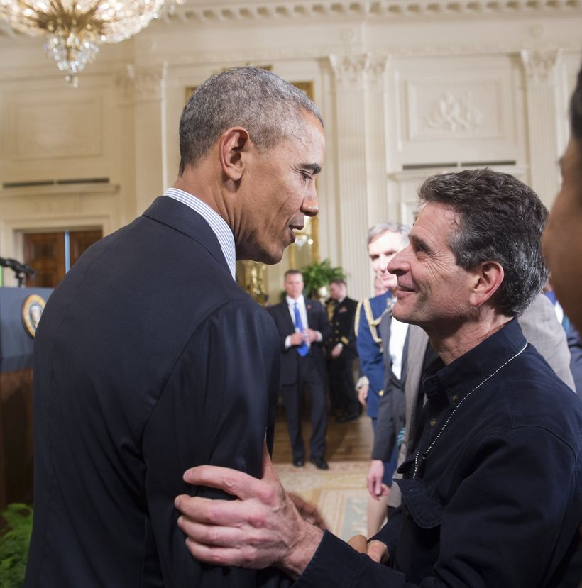 <strong>Dean Kamen with President Obama 2016. </strong>