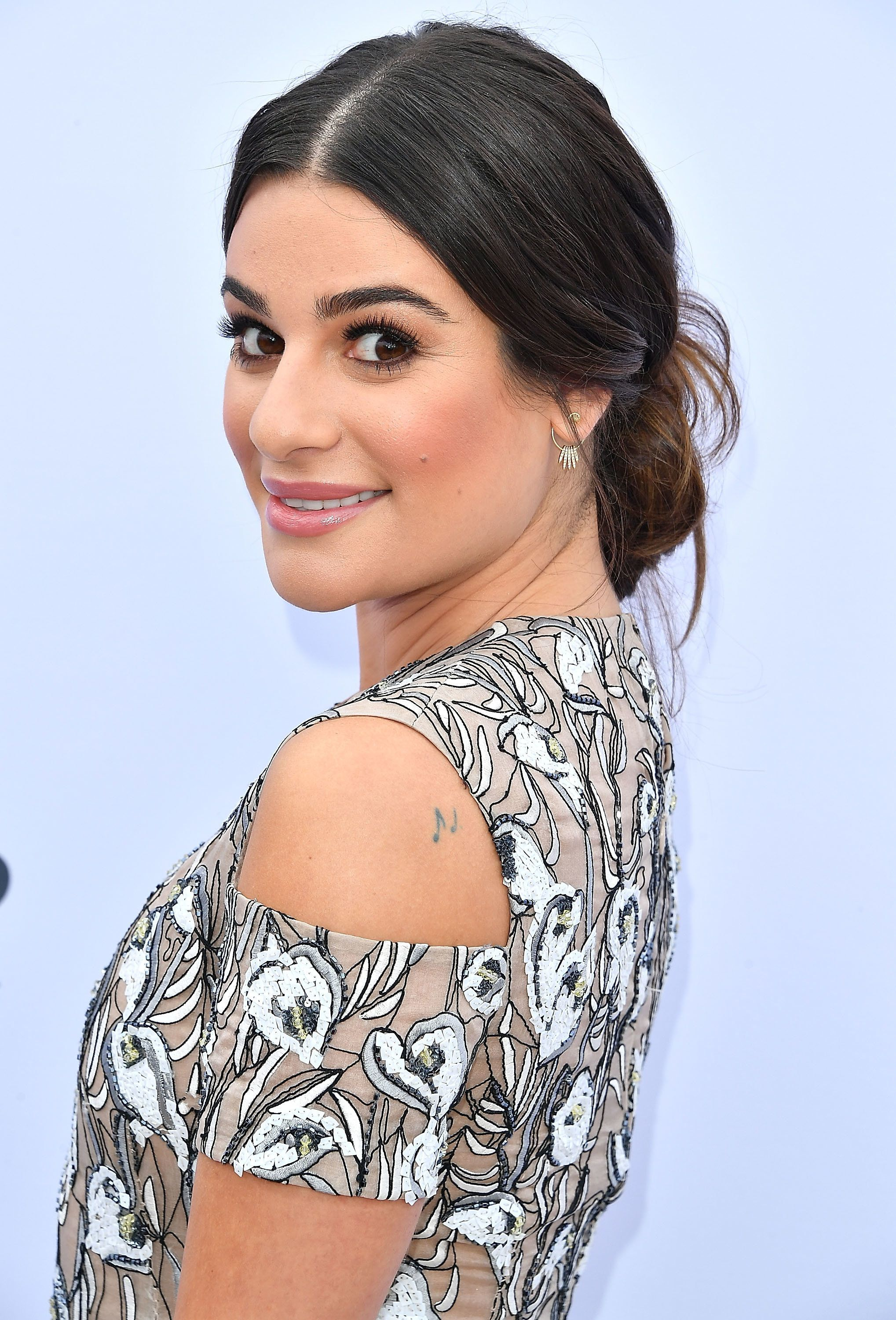 HOLLYWOOD, CA - DECEMBER 07:  Lea Michele arrives at the The Hollywood Reporter's 25th Annual Women In Entertainment Breakfast at Milk Studios on December 7, 2016 in Hollywood, California.  (Photo by Steve Granitz/WireImage)