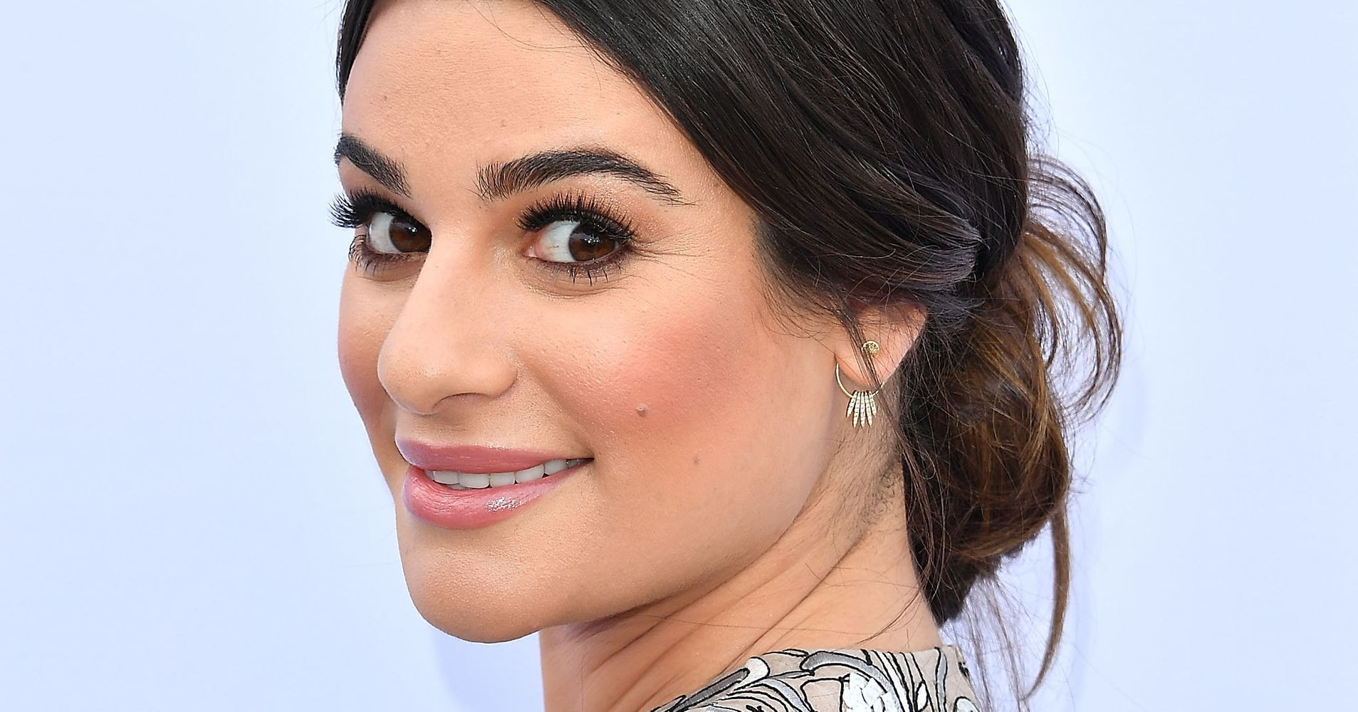 Lea Michele Says Shes Definitely Comfortable Being