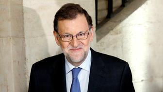 Spanish Prime Minister Mariano Rajoy arrives for a meeting of the Deusto Business School in Madrid, Spain, November 30, 2016. REUTERS/Juan Medina