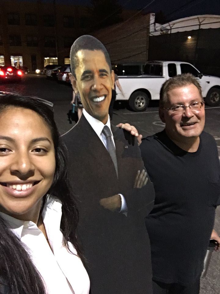 Adam saw my cut-out and without prompt, expressed his regret that Obama's second term comes to an end.