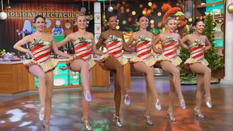 THE CHEW - The Rockettes appear Friday, December 16, 2016 on ABC's 'The Chew.'  'The Chew' airs MONDAY - FRIDAY (1-2pm, ET) on the ABC Television Network.   (Photo by Lorenzo Bevilaqua/ABC via Getty Images)  THE ROCKETTES