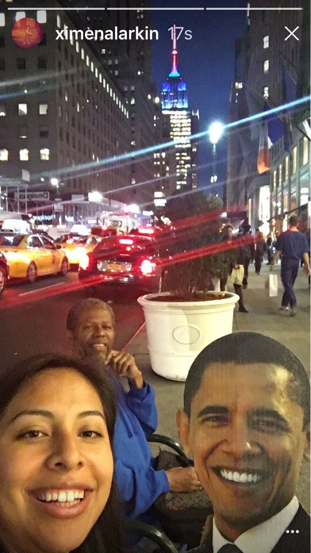My NYC friend who proudly told me people think he looks like President Obama.