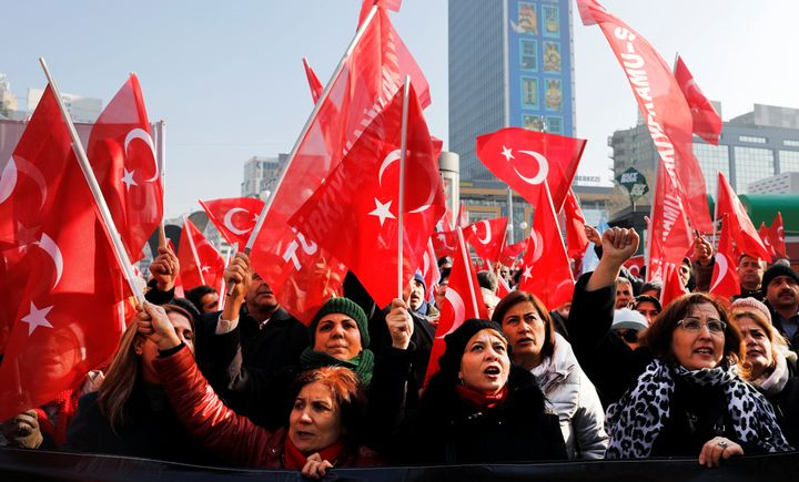 Geopolitical ambitions of an enflamed nationalistic wave in Turkey contain the possibility of a major regional eruption.